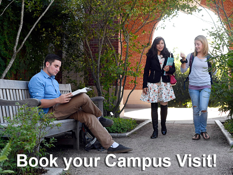Book your campus tour!