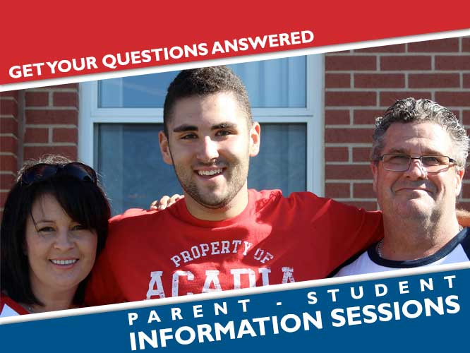 Parent Student Information Sessions