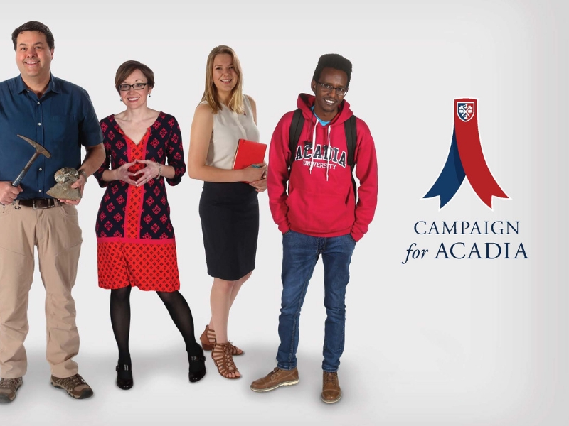 Campaign for Acadia Higher Ed Awards