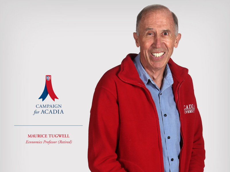 Maurice Tugwell Campaign for Acadia