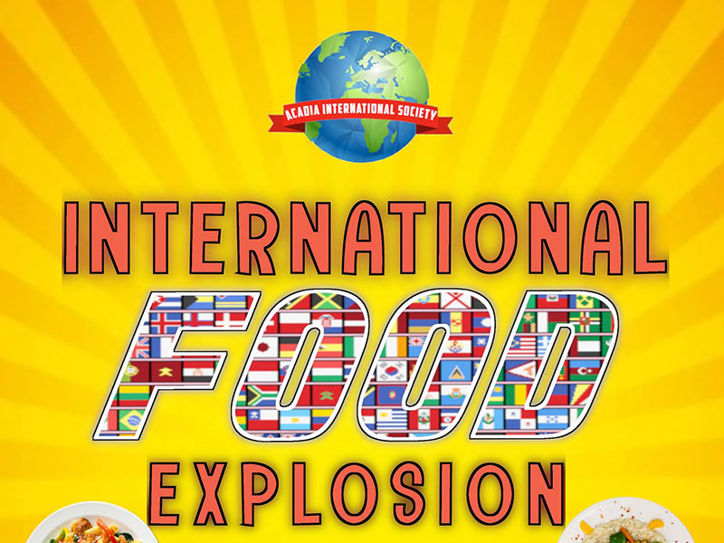 Visit the International Food Explosion event page on Facebook
