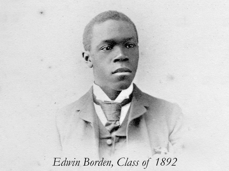 Edwin Borden, the first African-Canadian graduate of Acadia