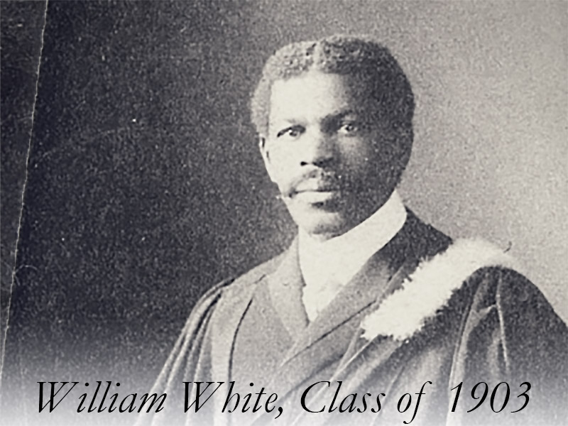 Reverend William White, Class of 1903