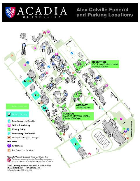 Acadia Campus Map Acadia Campus Map | Bedroom 2018