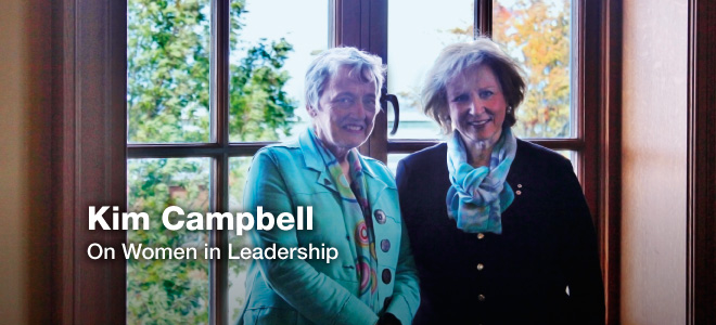 Kim Campbell on Women in Leadership