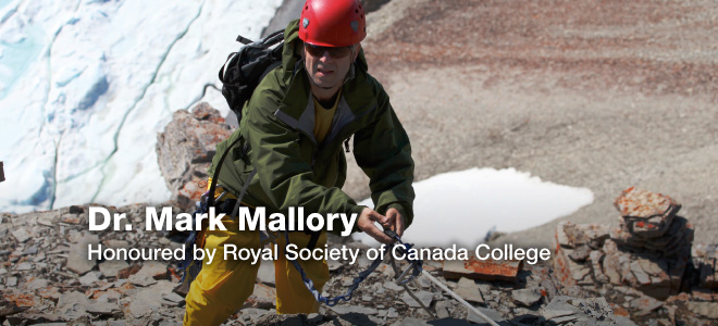 Dr. Mark Mallory Honoured by RSC